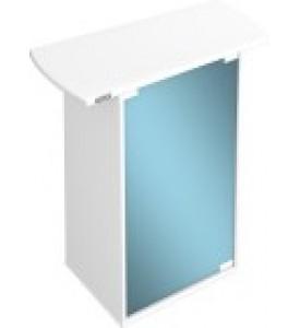 Tetra, AquaArt, тумба под аквариумы со стеклянной дверью белая (60 л.)