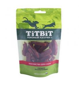 TiTBiT Золотая Коллекция, Говядина по-строгановски д/собак (80г.)