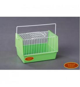 Золотая клетка, 3#, клетка-переноска для птиц и грызунов, эмаль (22х16х15 см.)