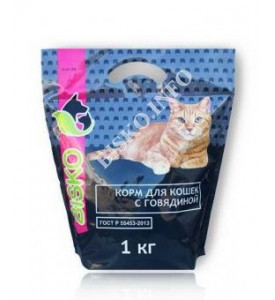 Bisko, корм д/кошек (говядина)
