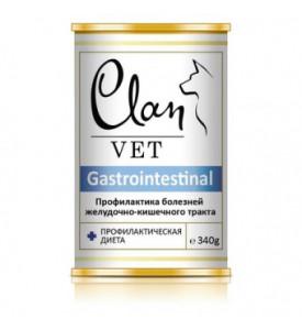 Clan,Vet Gastrointestinal, влажный корм д/собак